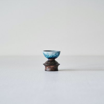 Liisa Hallamaa for ARABIA<br>Pottery candle stand 1960's