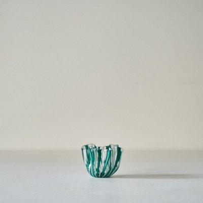 Fulvio Bianconi for VENINI Fazzoletto<br>Vase Blue Mini