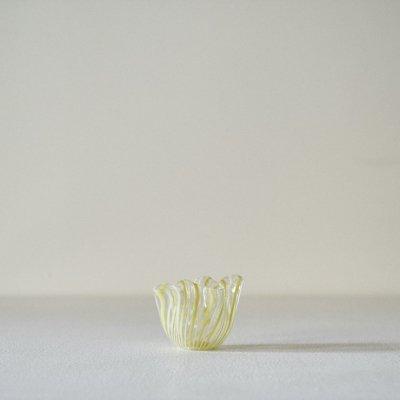 Fulvio Bianconi for VENINI Fazzoletto<br>Vase Yellow Mini