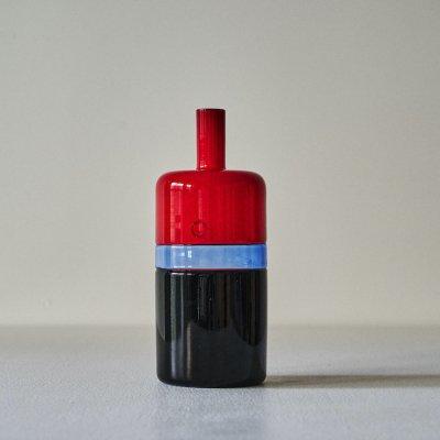 SARPANEVA for VENINI<br>Glass Red/Black