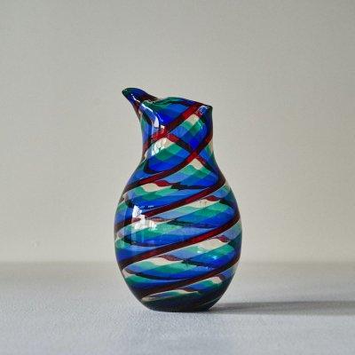 Fulvio Bianconi <br>Glass Pitcher Swirl