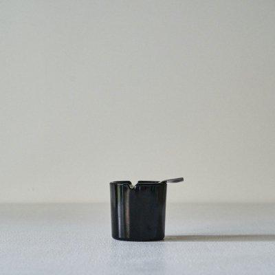 WMF Limited Edition 100th Birthday WAGENFELD<br>Glass Ashtray Black