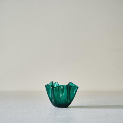 Fulvio Bianconi for VENINI<br>Vase Fazzoletto Green L