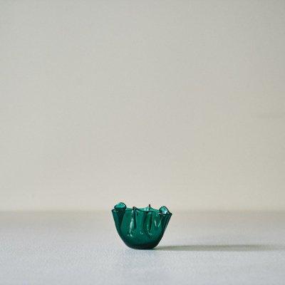 Fulvio Bianconi for VENINI<br>Vase Fazzoletto Green S