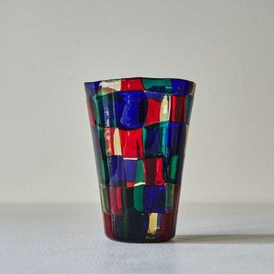 Fulvio Bianconi for VENINI Pezatto<br>Glass Vase 07s