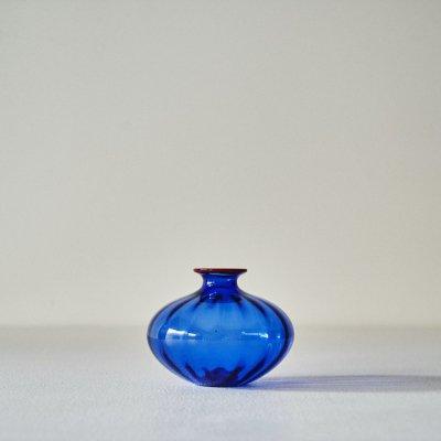 Barovier&Toso for VENINI<br>Glass Vase Blue/Orange 2000