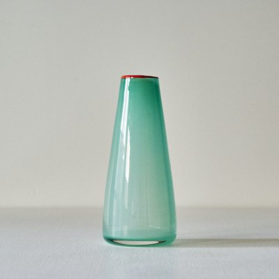 LANGERBIELKE for ORREFORS<br>Glass Vase Blue/Orange