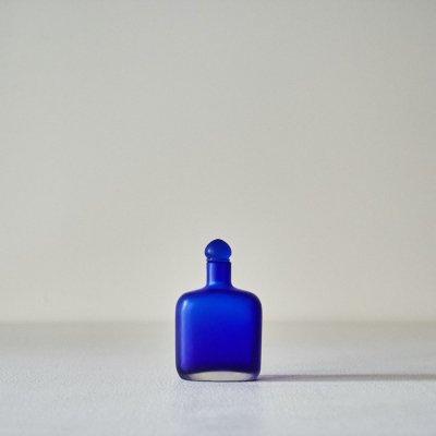 Paolo Venini for VENINI<br>Perfume Bottle Royal Blue 1995