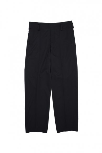 OVERCOAT<br>WIDE LEG TROUSER FOR MEN IN WOOL GABADINE