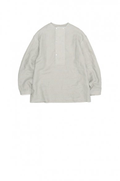 E.TAUTZ<br>DB COLLARLESS SHIRT