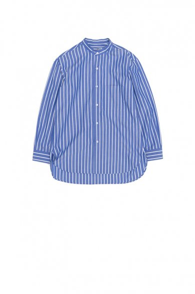 Cristaseya<br>STRIPED JAPANESE COTTON SUMMER MAO SHIRT