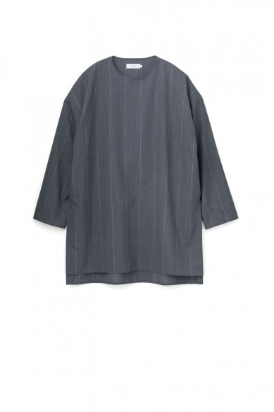 Graphpaper<br>Wide Stripe Wool Long Pullover