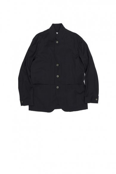 POLYPLOID<br>STAND COLLAR SUIT JACKET C
