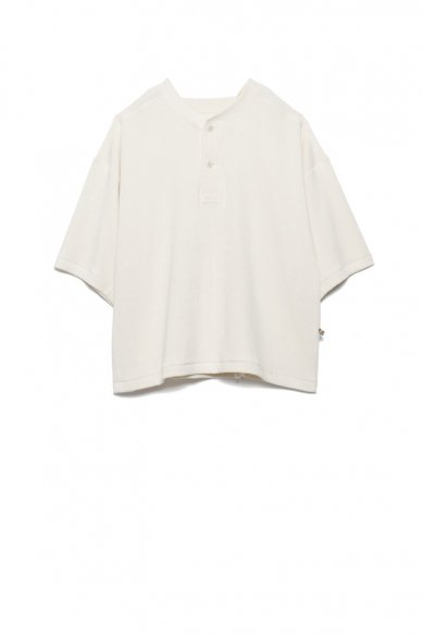 is-ness<br>2WAY  HENLEY NECK T-SHIRT