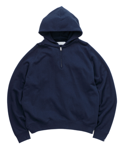Graphpaper<br>LOOPWHEELER for Graphpaper Half-Zip Parka