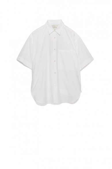 STUDIO NICHOLSON<br>OVERSIZED SHORT SLEEVE SHIRT