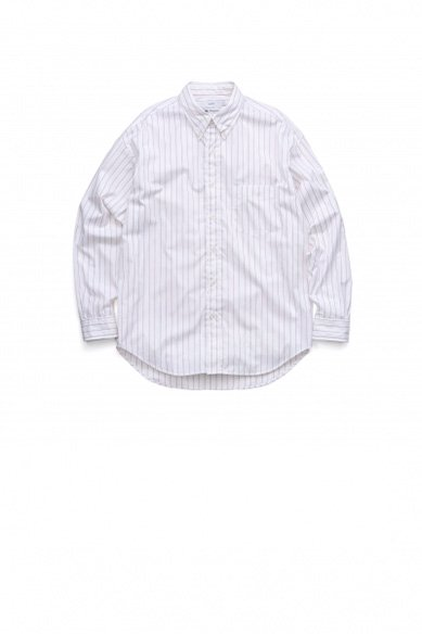 Graphpaper<br>Thomas Mason L/S B.D Box Shirt