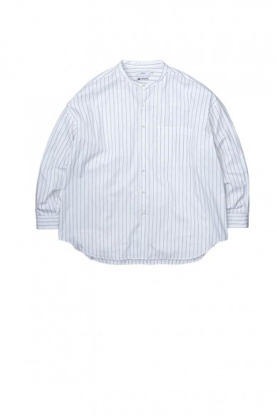 Graphpaper<br>Thomas Mason Oversized Band Collar Shirt