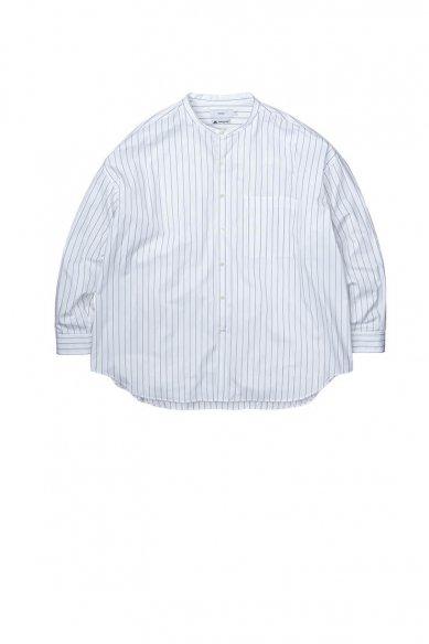 -SALE-<br>Graphpaper<br>Thomas Mason Oversized Band Collar Shirt