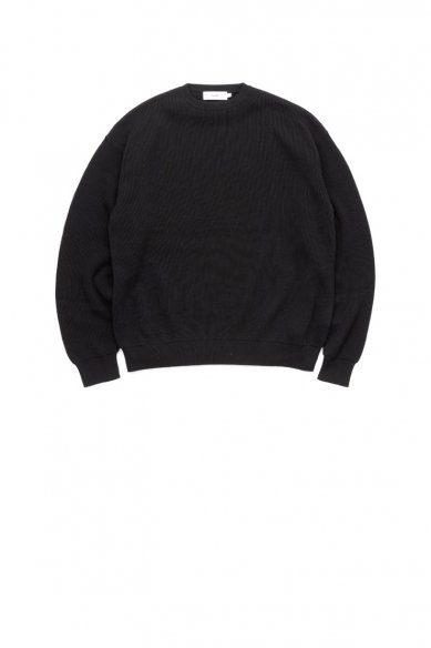 Graphpaper<br>High Density Cotton Knit Crew Neck