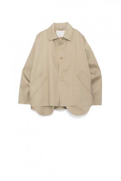 CAMIEL FORTGENS<br>OVERSIZED SHORT MACKINTOSH