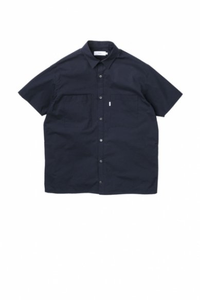 Graphpaper<br>Stretch Typewriter S/S Box Shirt