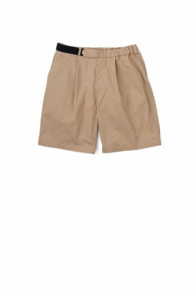 Graphpaper<br>Stretch Typewriter Wide Tuck Chef Shorts