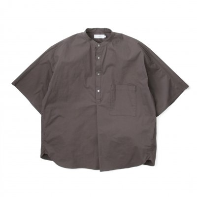 Graphpaper<br>StretchTypewriter Stand Collar Yoke Sleeve Shirt