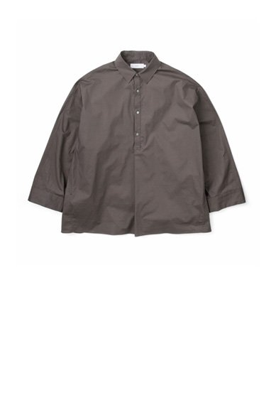 Graphpaper<br>StretchTypewriter Regular Collar Yoke Sleeve Shirt