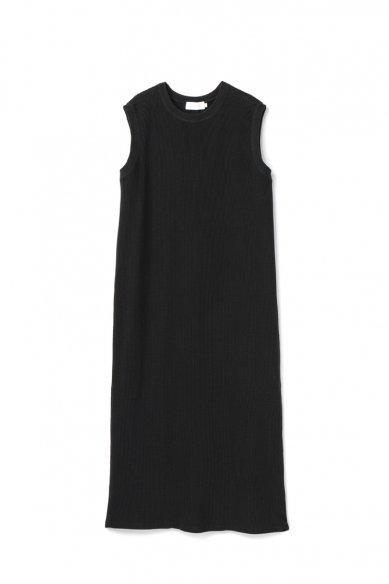 Graphpaper<br>Waffle Crew Neck Sleeveless Dress