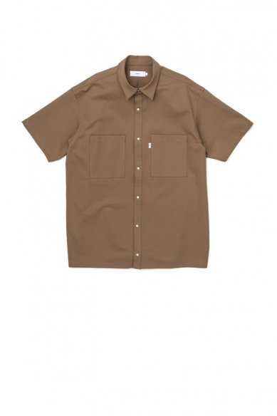 Graphpaper<br>Compact Ponte S/S Box Shirt