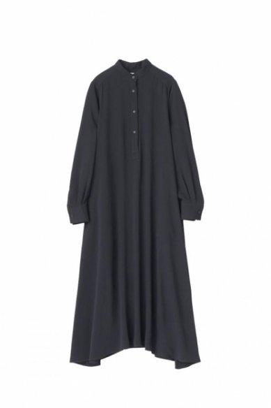 Graphpaper<br>Satin Band Collar Dress