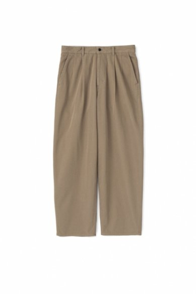 Graphpaper<br>Hard Twill Two Tuck Pants