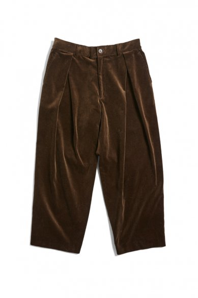is-ness<br>CORDUROY TUCK PANTS