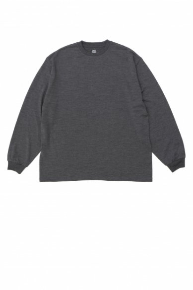 Graphpaper<br>Wool L/S Oversized Tee