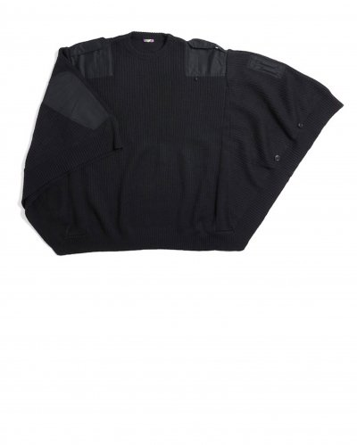 is-ness<br>MILITARY KNIT PONCHO
