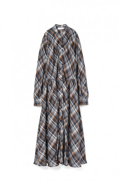 Graphpaper<br>Tencel Check Shirt Dress