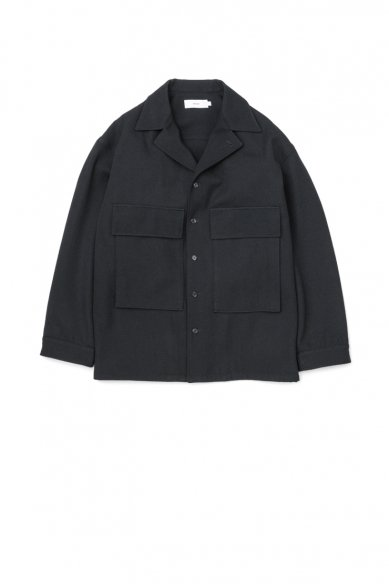 Graphpaper<br>Wool Kersey Fatigue Shirt
