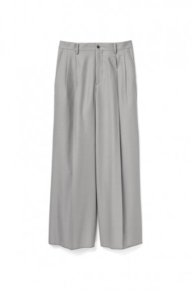 Graphpaper<br>Gently Wool Wide Two Tuck Pants