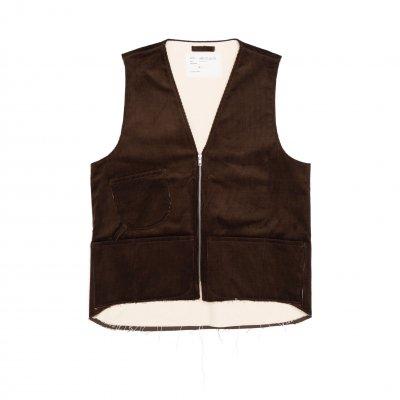 CAMIEL FORTGENS<br>worker vest corduroy