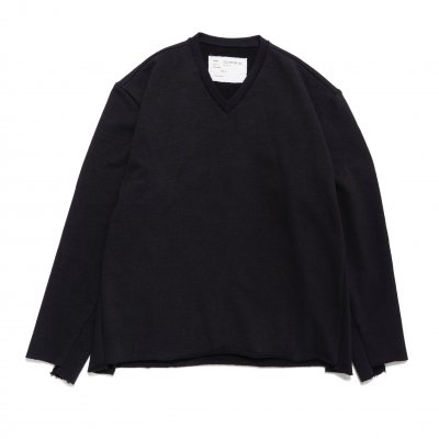 CAMIEL FORTGENS<br>Vneck Sweater Cotton Jersey