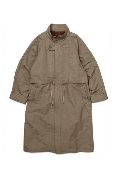 Graphpaper<br>Double Face Twill Stand Collar Coat