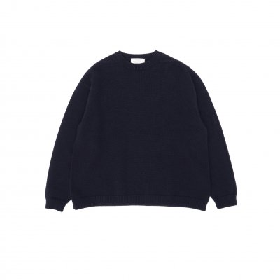 STUDIO NICHOLSON<br>ENGLISH LAMBSWOOL GUERNSEY JUMPER