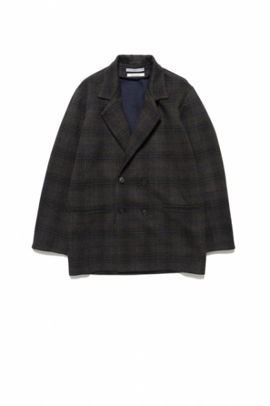 Cristaseya<br>Limited Collection<br>DOUBLE FACED CHECK JACKET
