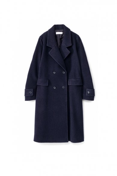 Graphpaper<br>Wool Fleece Double Breasted Coat