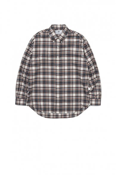 "Graphpaper<br>""THOMAS MASON""  for GP Check  B.D Box Shirt"