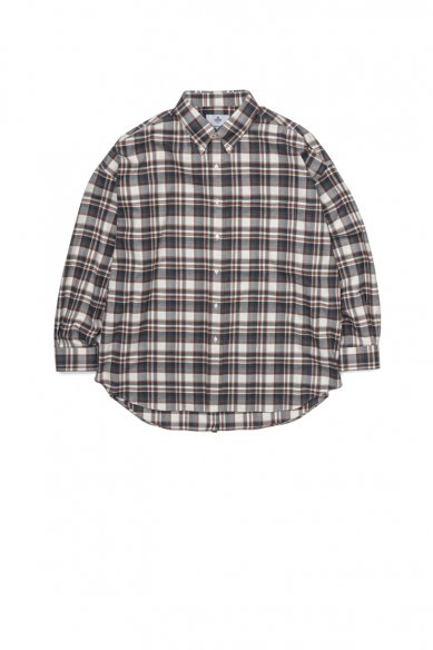 "Graphpaper<br>""THOMAS MASON""  for GP Check Oversised B.D Shirt"