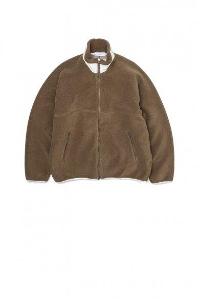 Graphpaper<br>Wool Boa Zip-Up Blouson