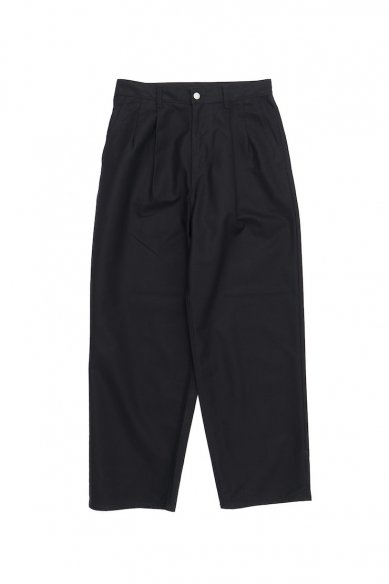 Graphpaper<br>Double Cloth Peach Two Tuck Pants
