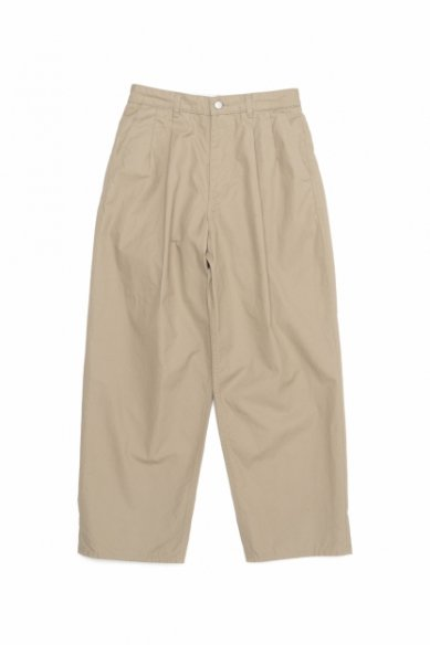 Graphpaper<br>High Count Weather Two Tuck Pants